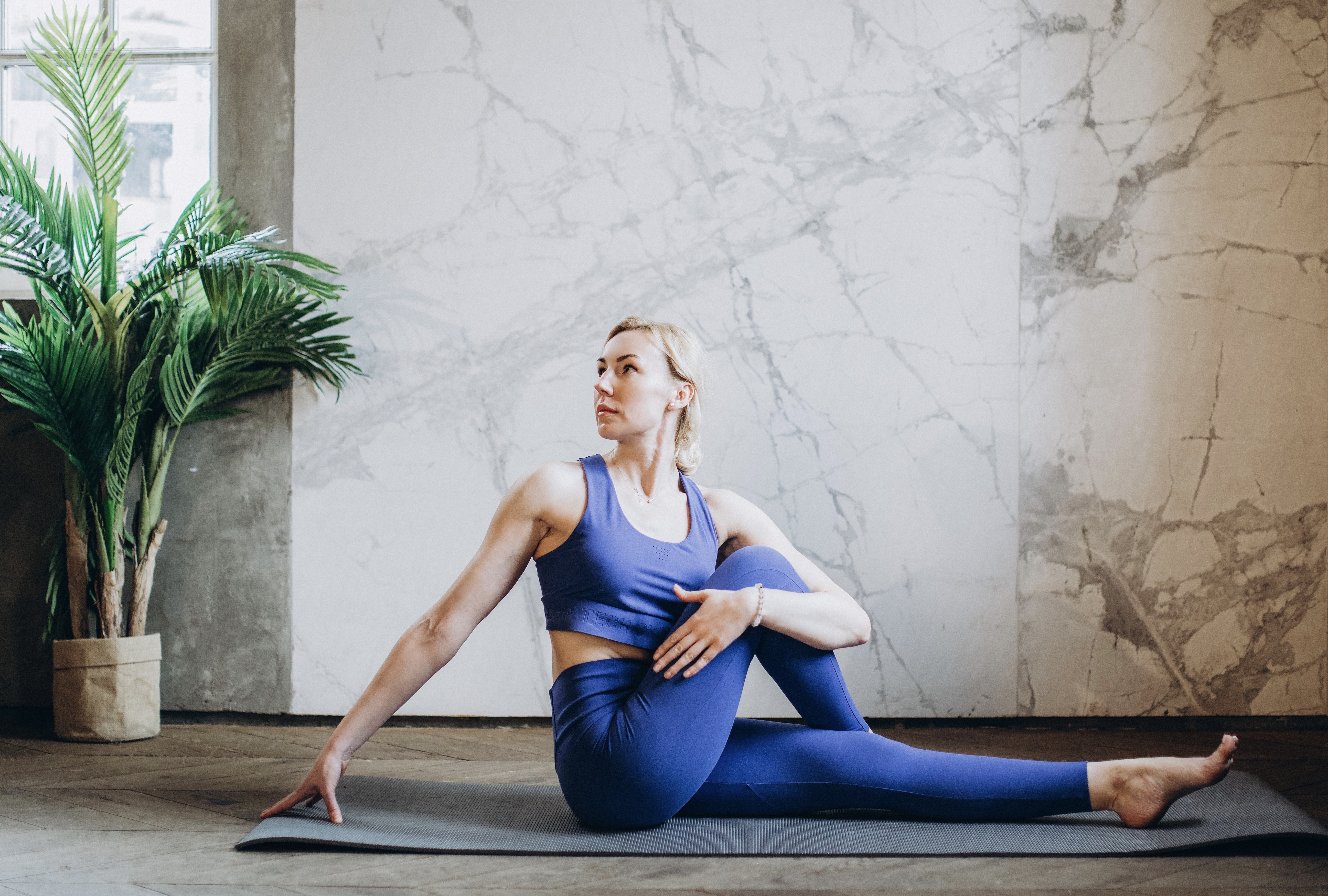 If you want to exercise after an IBS flare-up, yoga is a good option.