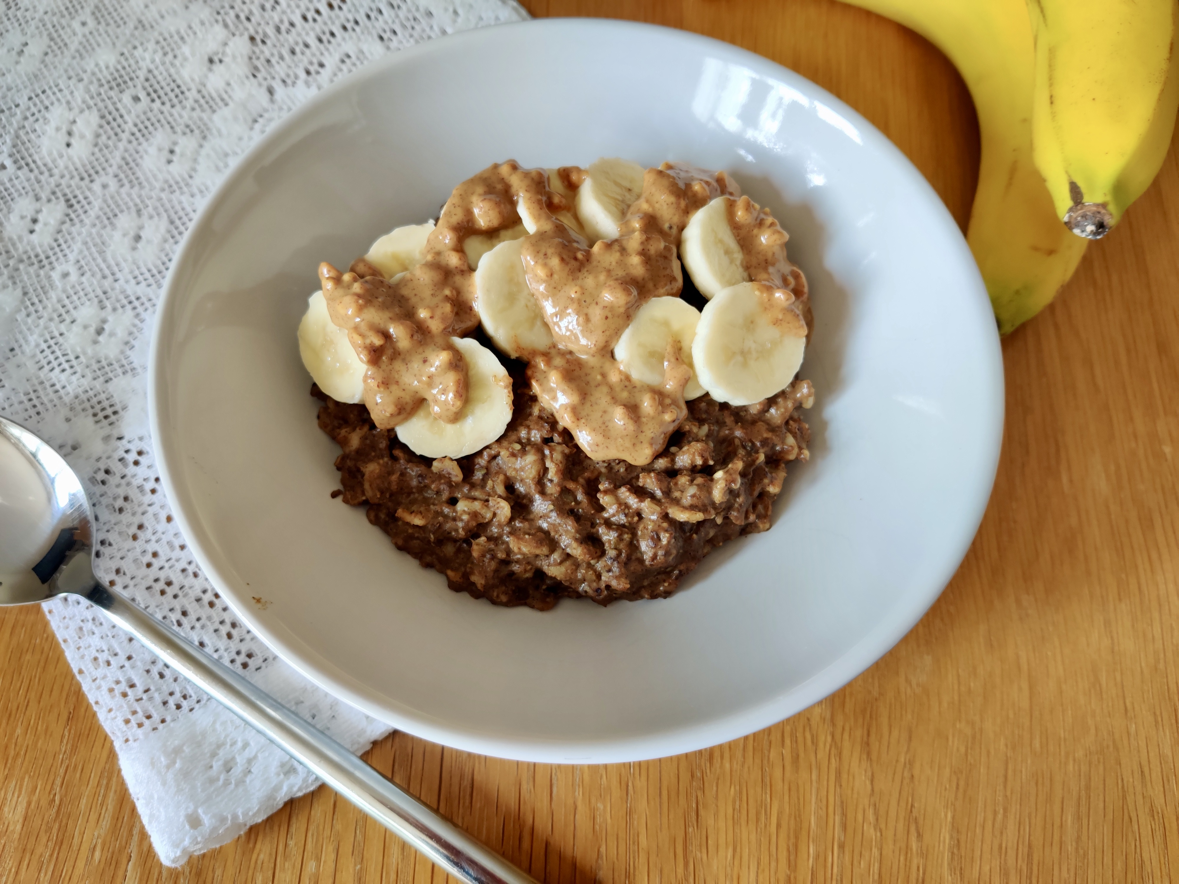 Using Cocoa Purition to flavour your porridge creates a yummy gluten-free breakfast.