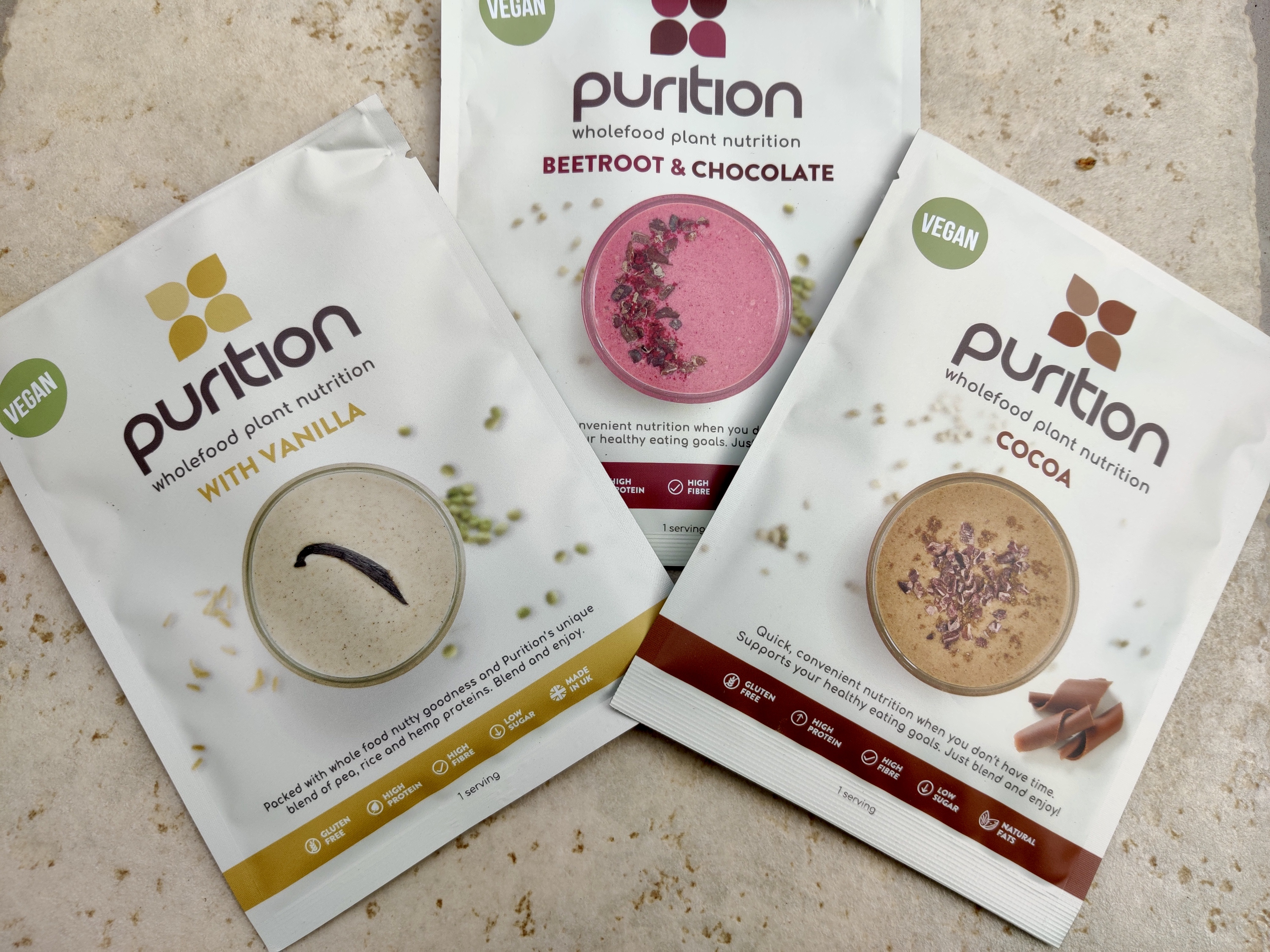 All Purition blends are gluten-free and perfect for breakfast.