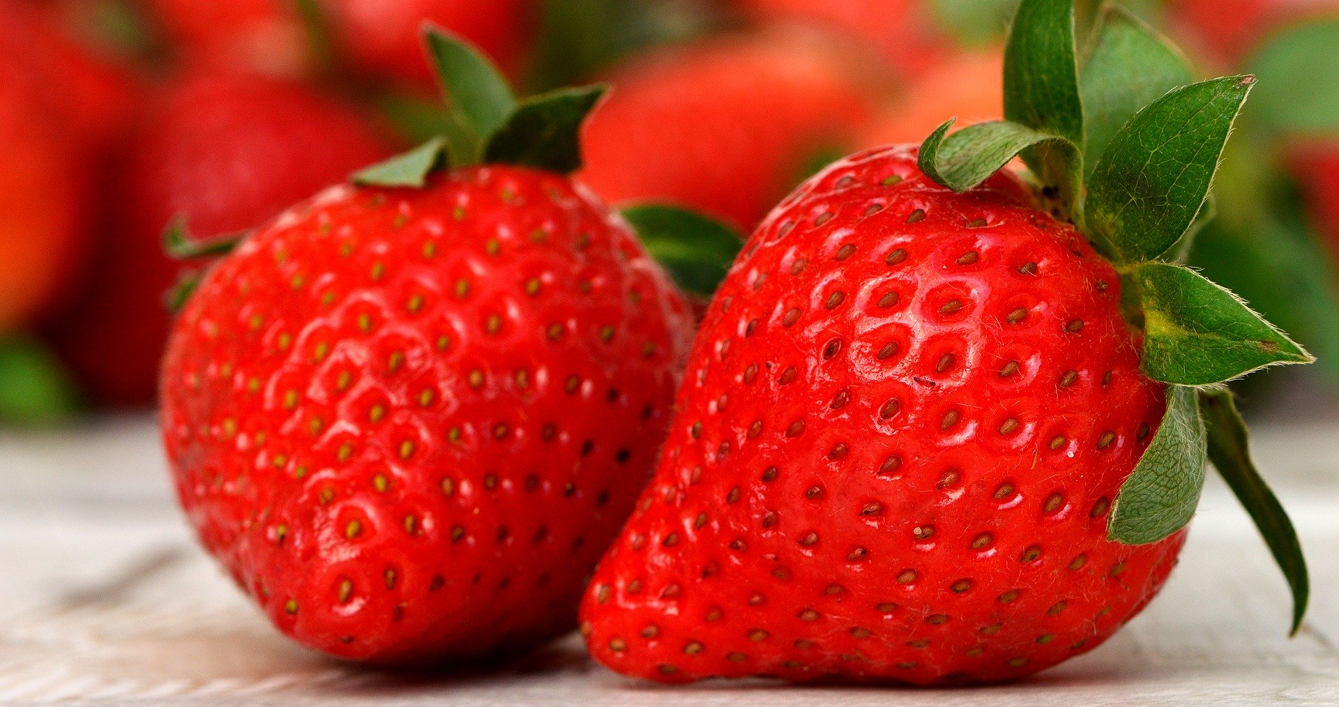Strawberries have anti-inflammatory potential.