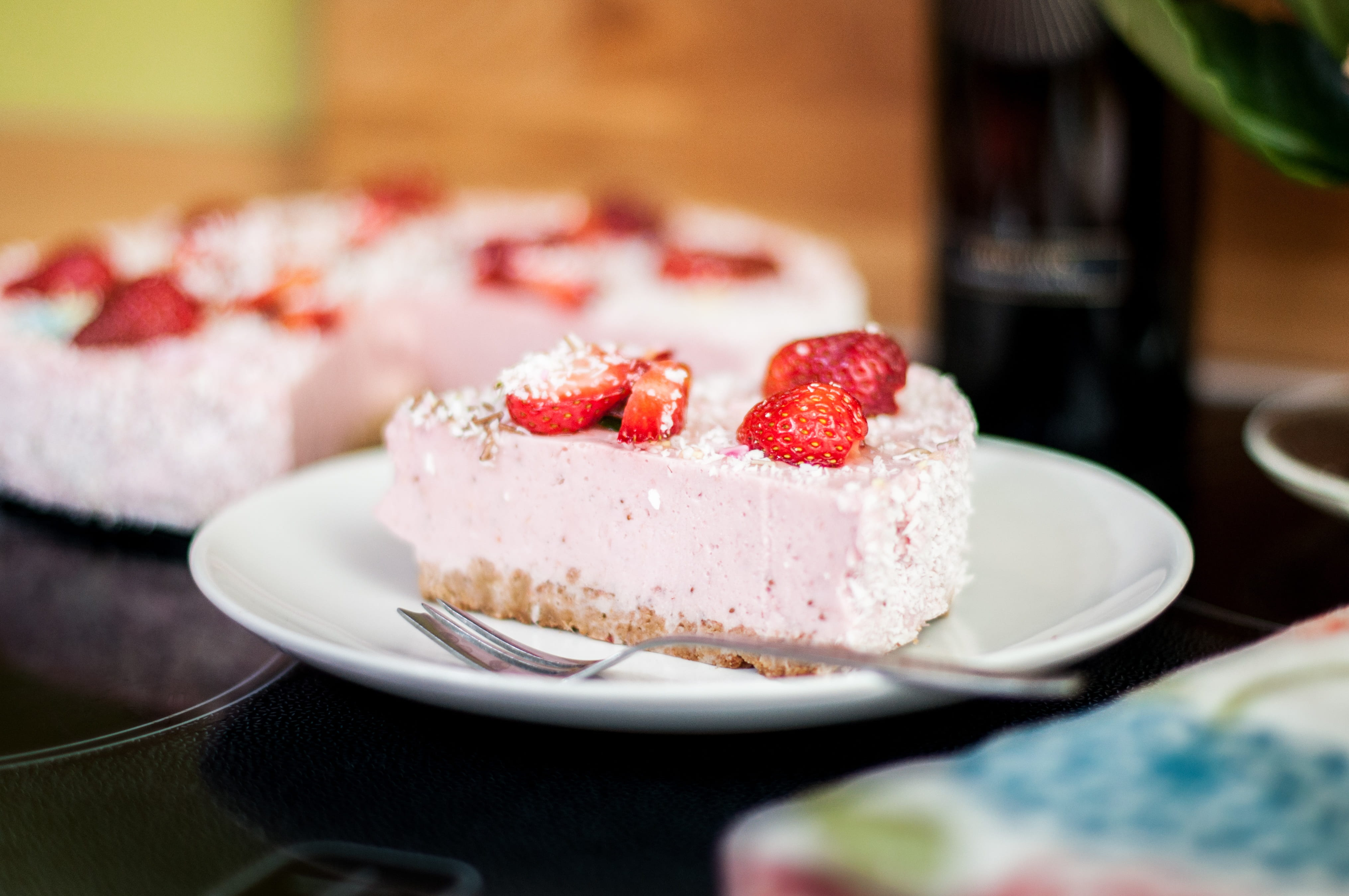 A strawberry cheesecake is a definite crowd-pleaser!