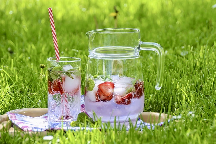 Water is a simple thing to pack for your picnic and an essential
