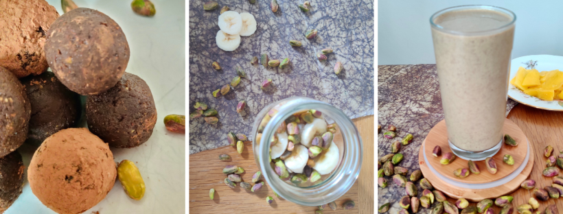 Give your gut health a boost with these 3 Vegan Purition Pistachio recipes.