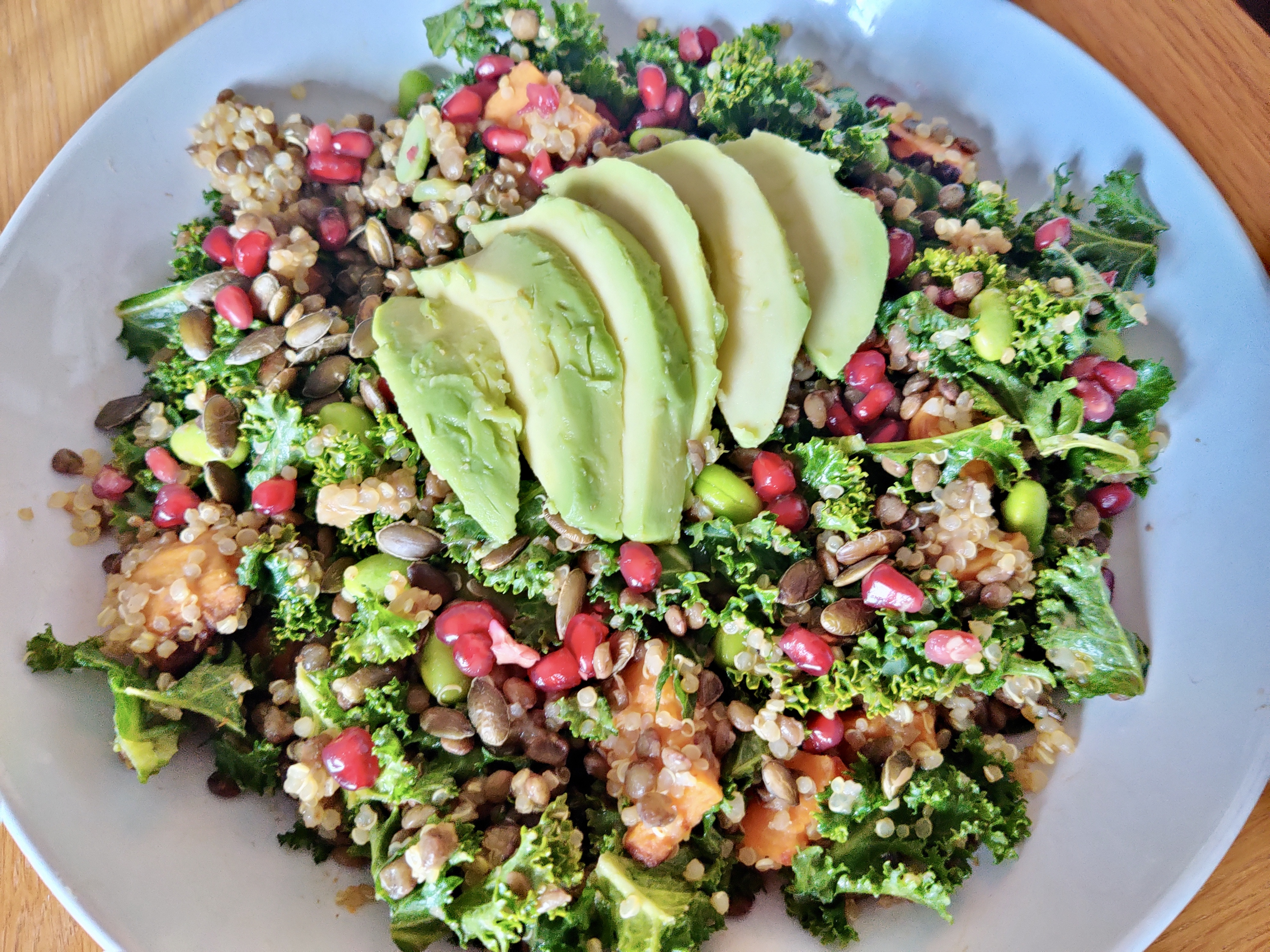 This hearty salad makes for a delicious healthy meal.